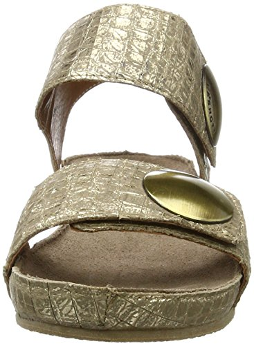 cashott - A10152, Sandali Donna Gold (Cocco Gold 190)