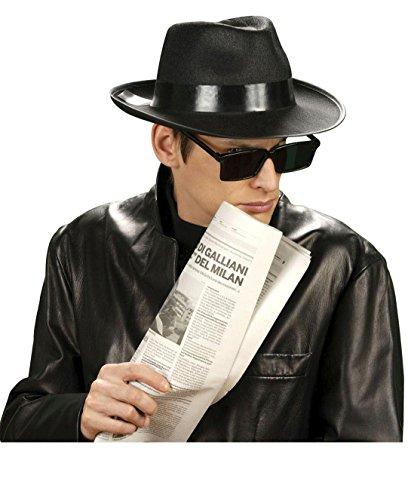 *** ANGEBOT *** SET - SPION - ( Hut, 59 cm + Brille ), Undercover Gangster Spione Geheimagenten Agenten (Undercover Spion Kostüm)