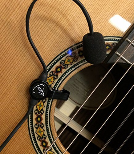 the-feather-gypsy-jazz-guitar-pickup-with-flexible-micro-goose-neck-by-myers-pickups-see-it-in-actio