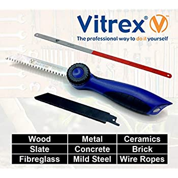 Vitrex Pocket Hand Saw Quick Fit Grip Handle Reciprocating