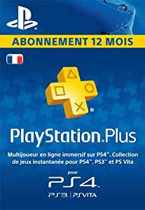 playstationplus abonnement de 12 mois code jeu psn ps4 compte fran ais jeux vid o. Black Bedroom Furniture Sets. Home Design Ideas