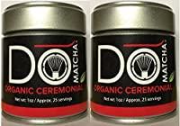 Domatcha Green Tea, Organic Matcha, 1.0-ounce Tin (2 pck)