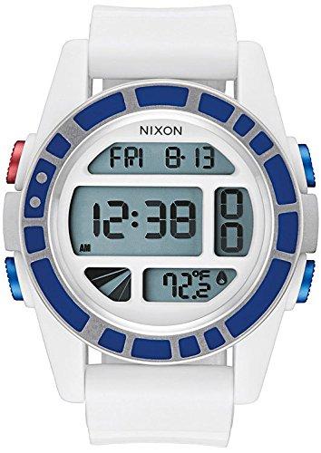 Nixon-unit Uhren Männer (STAR WARS| Nixon - Unit SW R2D2 white A197SW-2379, Herrenuhr)