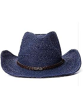 Ourdream Sombrero de paja sombrero de pescador , navy