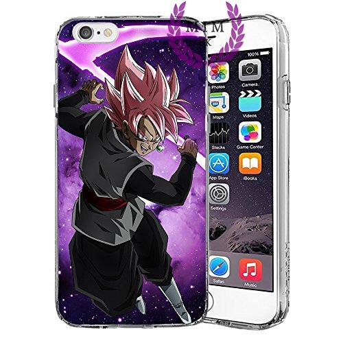 Dragon Ball Z Super GT iPhone Hüllen-Ultra Instinct-Goku blau-Vegeta blau-Gohan-Goku Rose-MIM UK, iPhone 5 / 5s / SE, Rose (Z Dragon 5s Ball Fall)
