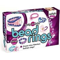 Mystyle - Set da gioco con perle e materiale per creare anelli