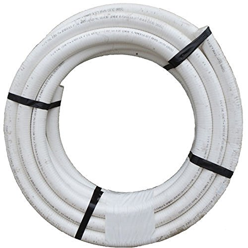 PACIFIC ECHO FP1X 100N 2,5cm X100'PVC Flex Rohr–Weiß–NSF-zertifiziert 48 Rahmen Motor