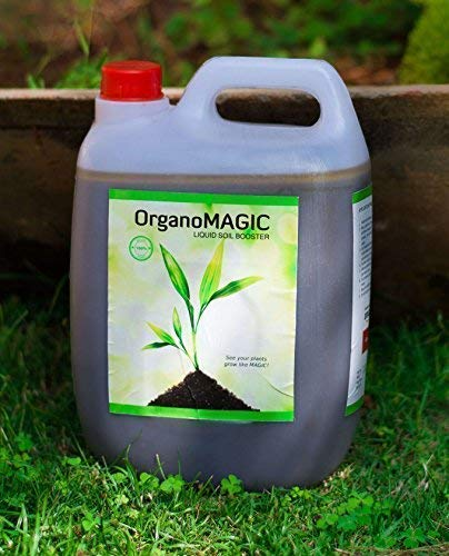 OrganoMagic Liquid Soil Booster Organic Liquid Fertilizer for all plants 5 Ltr