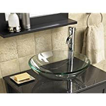 Lavabi Bagno In Vetro Colorato.Amazon It Lavabi Di Vetro