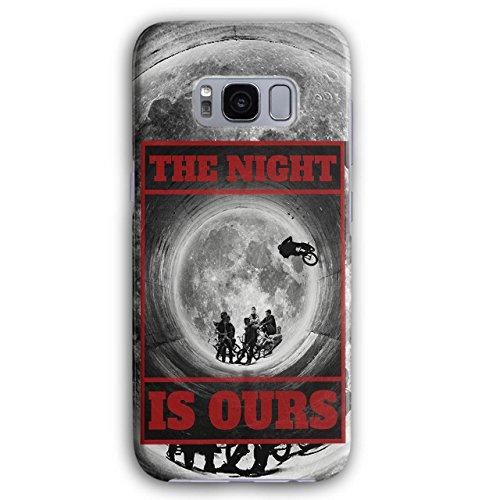 Wellcoda Nacht BMX Mond Mode 3D Galaxy S8 Hülle