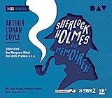 Sherlock Holmes 3 – Die Memoiren: Hörspiele mit Peter Pasetti