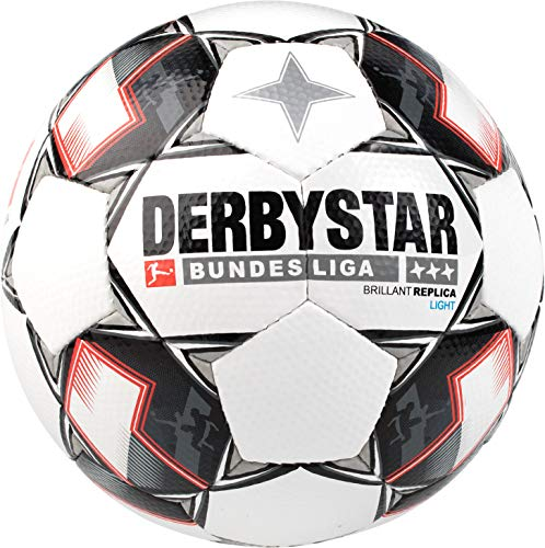 Derbystar Fussball Bundesliga Brillant Replica Light 18/19 1301 Weiß/Schwarz/Rot 4