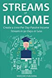 STREAMS OF INCOME (2016 bundle): Create a $100 Per Day Passive Income Stream in 90 Days or Less (English Edition)