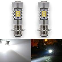 2 bombillas LED blanco 283521SMD 80W de alta potencia KaTur 70561156BA15S 1141P21W, lente LED de 12V, luz de freno, de marcha atrás, etc.