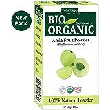 Indus Valley 100% Organic Amla Powder (Indian Gooseberry Powder) For Face, Skin & Hair Care 100 Grams