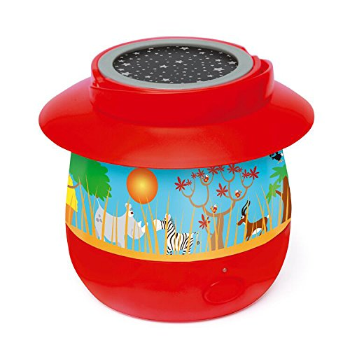 Scratch 6182316–Luz nocturna Safari, varios juguetes