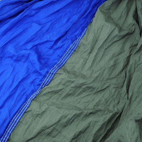 RocFitness® Hängematte aus 100% RipStop Nylon (Fallschirmseide) inkl. 2 Spezialschlaufen für besseren Halt - 2