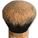 ZAO Kabuki Puderpinsel Makeup-Pinsel aus Bambus für Naturkosmetik
