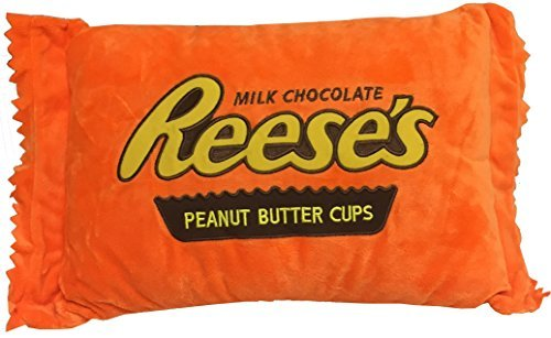 reeses-peanut-butter-cups-embroidered-plush-pillow-by-sweet-novelty