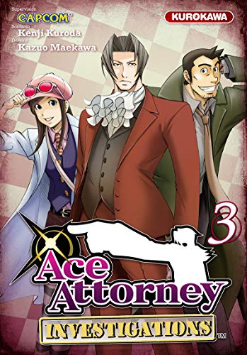 Ace Attorney - Investigations Vol.3