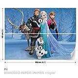 Disney Frozen Fototapete Tapete Dekoshop Disney Eiskönigin AD1631P4 (254cm x 184cm) Photo Wallpaper Mural