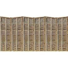 PLAGE 143528 Adhesivo de decoración cabecero de cama-persinanas venecianas, 60 x 160 cm