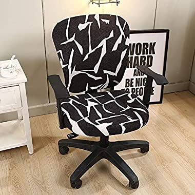 Campinery Computer Bürostuhlabdeckung Stretchable Universal Swivel Chair Cover constructive