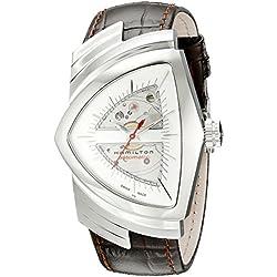 Hamilton H24515551 - Reloj para hombres, correa de cuero