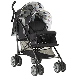 Mychild Sienta Duo Tandem Twin Pushchair Geo kk KinderKraft Mechanism for easy folding with one hand After folding, the stroller resembles a briefcase You do not have to stop and move around the stroller to make eye contact with the child 10