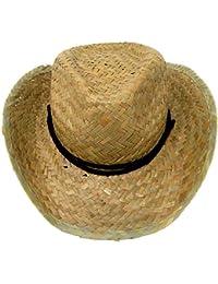 64927949728 Boys   Kids Straw Cowboy Hat - Cowboy Fancy Dress