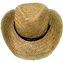c88e6d1d28b34 Muchachos Sombrero de Vaquero de Paja   Vestido de Lujo Sombrero de Vaquera