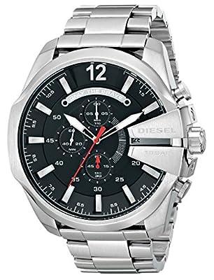 Reloj Diesel Mega Chief Dz4308 Hombre Negro