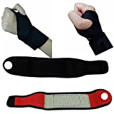 #5: CGT Adjustable Wrist Guard Band Brace Support Carpal Tunnel Sports Pain Relief Wrap Wristband