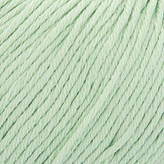 ggh Tavira - 043 - Blasses Lindgrün - Baumwolle, 50g Knäuel, 80m Lauflänge, Nadelstärke 4-5, Stricken, häkeln