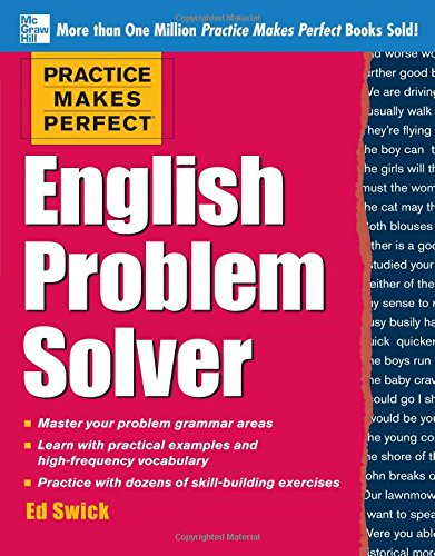 Practice Makes Perfect English Problem Solver por Ed Swick