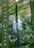 Wilde Gräser / Geburtstagskalender (Wandkalender immerwährend DIN A4 hoch): Verschiedene Gräser ganz natürlich. (Monatskalender, 14 Seiten) (CALVENDO Natur)