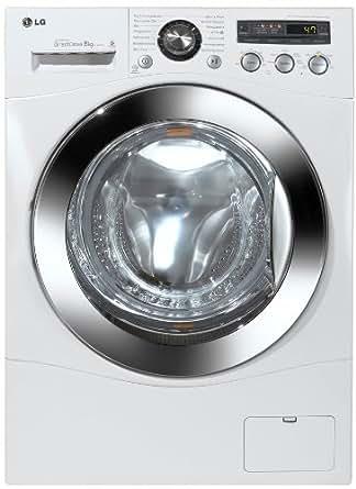 LG F1447TD21 Frontlader Waschmaschine (A+++, 1400 UpM, 8 kg, Beladungserkennung, Kindersicherung) weiß
