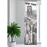 JEMIDI Flächenvorhang - Living- Schiebegardine Flächen Vorhang Raumtrenner Gardine Vorhang Schal Design 40