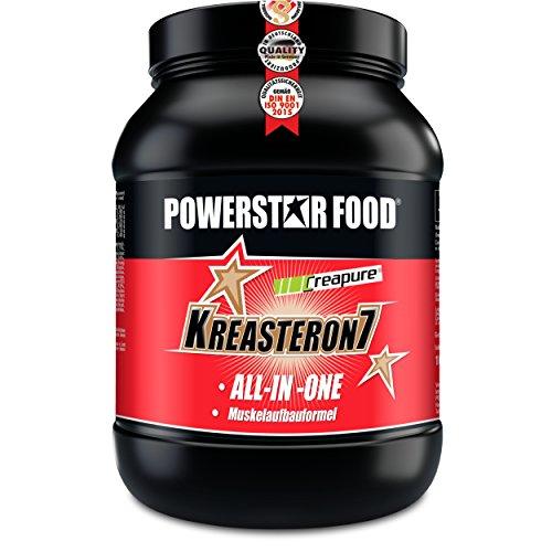 KREASTERON 7, ultimatives ALL-IN-ONE-Aufbauprodukt mit 7 Nährstoff-Kombinationen zum optimalen Muskelaufbau und Kraftsteigerung (Orange, 1610 g Dose)