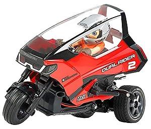 Tamiya 57407 57407-1:8 Dual Rider Trike T3-01 - Maqueta de Coche teledirigido (sin lacar)