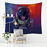 MSHTXQ Space Astronaut Series Polyester Tapestry Technology Wall Hanging Star Beach Beach Beach Blanket 230X180CM