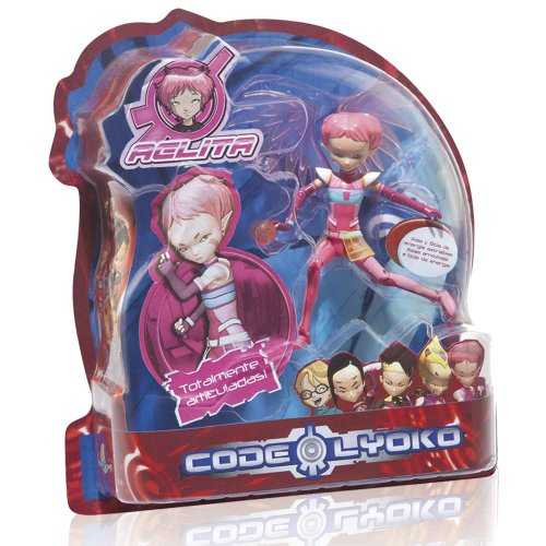 Code Lyoko - Figure Aelita of 15 cm with allas and ball, pink color (Simba 3089006)