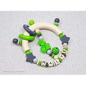 Greifling mit Namen/Greifling Traktor/Greifling Junge