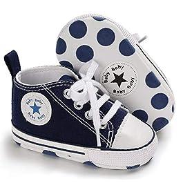 Auxma, Stivaletti bambini blu Blau 0-6 Monat