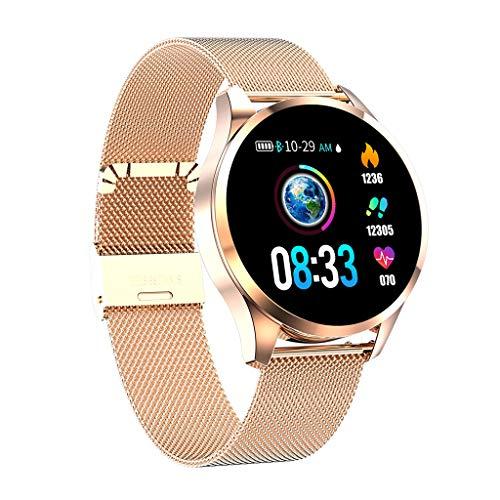 Knowin Smart Watch Wasserdicht IP68 Fitness Tracker mit Pulsmesser 1.22 Zoll Farbbildschirm Aktivitätstracker Fitness Uhr Smartwatch Pulsuhren fitnessband Schrittzähler Uhr für Damen