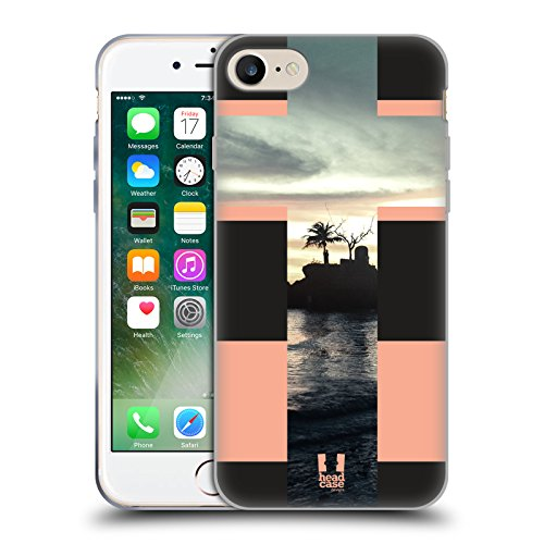 Head Case Designs Highcross Stampa A Croce Cover Morbida In Gel Per Apple iPhone 7 / iPhone 8 Il Mare In Una Croce