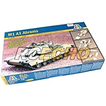 RCECHO® ITALERI Military Model 1/35 M1 A1 Abrams Scale Hobby 6438 T6438 with RCECHO® Full Version Apps Edition