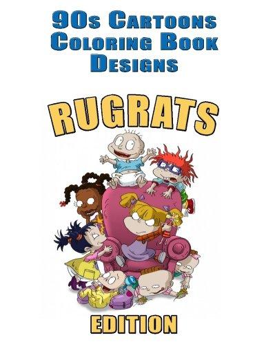 90s Cartoons Coloring Book Designs: 30+ RUGRATS Designs