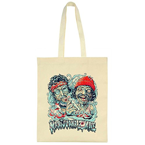 cheech-and-chong-marijuana-zombie-design-canvas-tote-bag