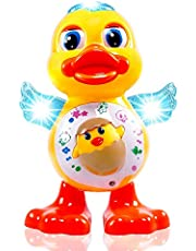 Popsugar Musical Dancing Duck Toy with Real Dance Action